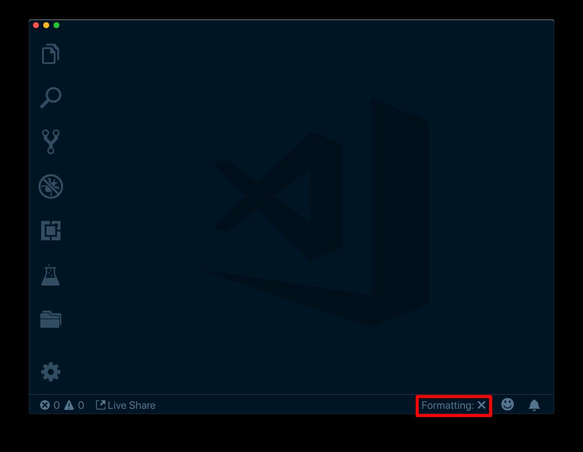 VSCode의 Formatting 기능 끄기